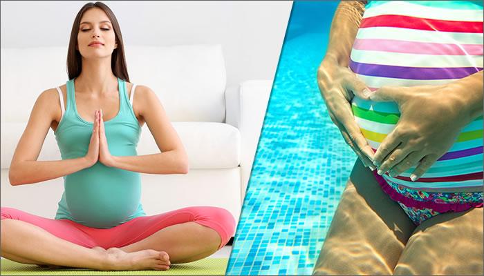 ejercicios para aliviar la ciatica en el embarazo